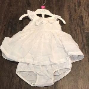 White dress NWT